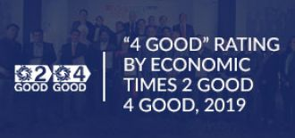 """4 Good"" Rating by Economic Times 2 Good 4 Good, 2019"