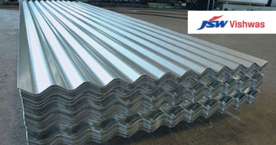 Galvanized Corrugated Sheet – JSW Steel
