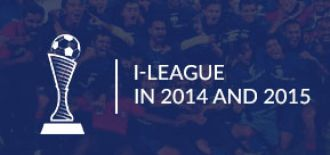 BFC won I- League in 2014 and 2015