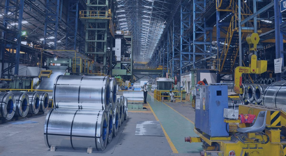 iron factory in india